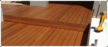 Timber Repairs To The Deck